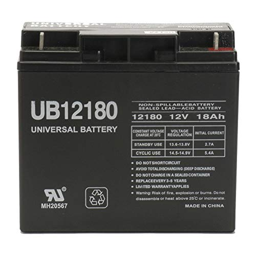 12V 18AH Battery for Craftsman Black Lawn Mowers