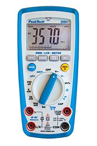 PeakTech Digitalmultimeter mit Lcr-Meter, 1 Stück, P 2180