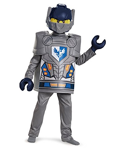Clay Deluxe Nexo Knights LEGO Costume, (Best Knight Costume)