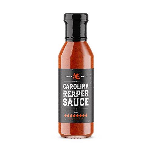 CustomHeats Carolina Reaper Sauce, 5oz