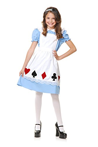Charades Storybook Alice Children's Costume, Medium -