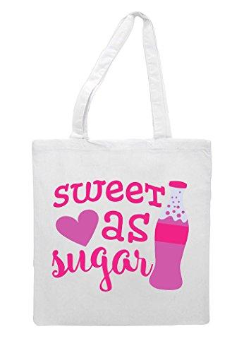 White Shopper As Sweet Sugar Tote Bag 1wFWqzX
