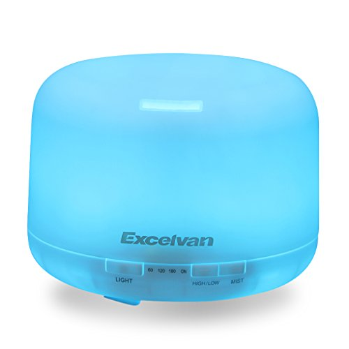 Excelvan Diffuser Ultrasonic Humidifier Waterless Auto product image