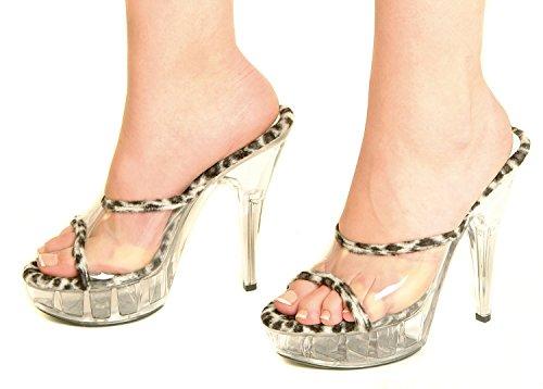 Sintética broche de plata de diseño de natashia Lunt y pedrería para mujer UK de plataforma para mujer zapatos de 4 5 6 7 8