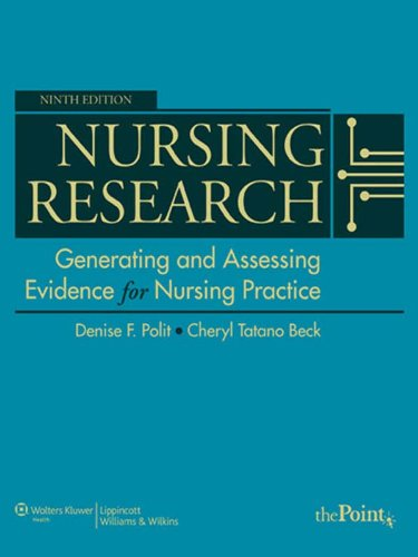 Nursing Research: Generating and Assessing Evidence for Nursing Practice Pdf