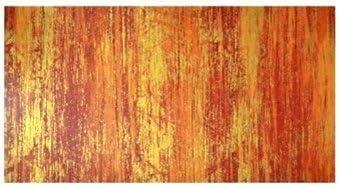 efco rund Wachs Streifen 10-TLG. 200/x 2/mm Licht Rot