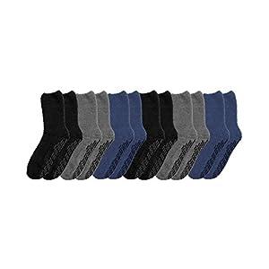Non Skid Socks - Hospital Socks - 6 Pack - Unisex Pack One Size