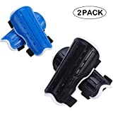 cGy 2 Pairs Youth Soccer Shin Guards,Kids Soccer Shin Pads,Lightweight and Breathable Child Calf Protective Gear Soccer Equipment for 3-12 Years Old Boys Girls Children Teenagers Kids
