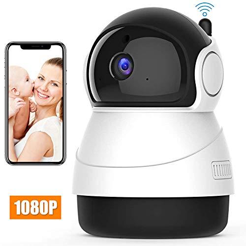 Camaras de seguridad wifi HD 1080P camara de vigilancia inalambrica Interior 360 Grados camara ip wifi monitor de bebe...