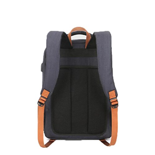 Bag Casual Business Large Women Smart capacity Backpack Computer Men And Rechargeable Dhfud Lightgray Usb FYagvxnwq