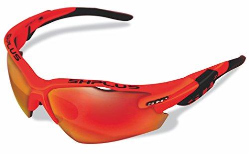 SH + RG 5000, lunettes Mixte adulte M Arancione/Revo Laser Rosso