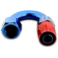 A-1 Products 180 Degree 10 AN Hose to 10 AN Female 200 Series Hose End P/N 01810