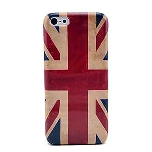 Vintage Union Jack Flag Hard Plastic Case for iPhone 5C
