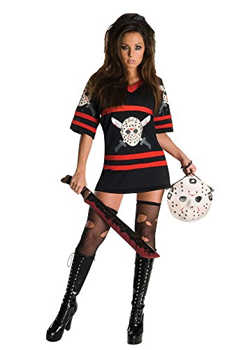 UHC Women's Miss Jason Voorhees Friday The 13Th Gothic Sexy Halloween Costume, L (12-14) for $<!--$57.95-->