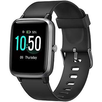 Amazon.com: LETSCOM Fitness Tracker, Smartwatch with ...