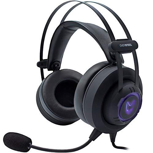 🥇 Oversteel – Auriculares gaming MERCURY con micrófono