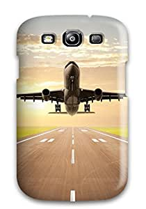 Hot 8255226K30506132 Tpu Case For Galaxy S3 With Flight Takeoff