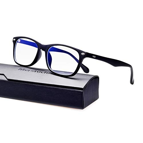 Merstoclo Blue Light Blocking Glasses, Computer Gaming Glasses Anti Eye Fatigue and Help Sleep Better, Unisex Suitable for Men, Women, Student. ()