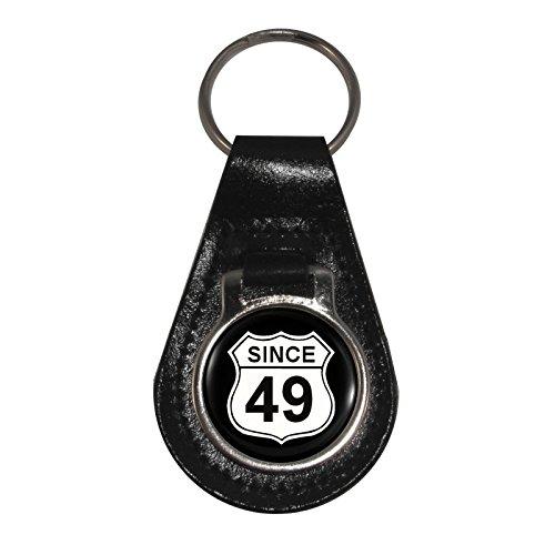 clés Signe 49 nbsp;porte Cuir Depuis Route En Us Naissance nbsp;la 66 Année gqnzYZB