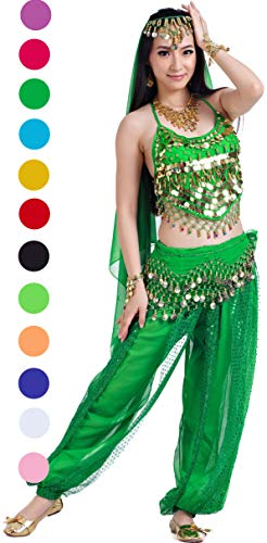 Athena YY India Dance Outfit Belly Dance Ladies Halloween Carnival Costumes for Women