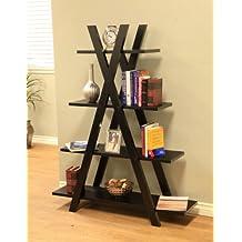 Frenchi Home Furnishing Coffee Bean Bookcase/Display Shelf