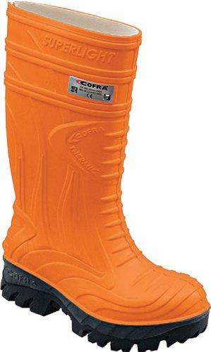 COFRA THERMIC, Stivali di gomma unisex adulto Arancione