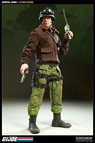 GI Joe Sideshow Collectibles 12 Inch Deluxe Action Figure G.I. Joe Commander - Toy Action Sideshow Inch Figure 12