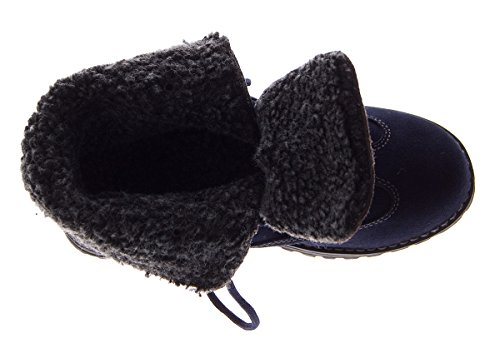 Femme Chaussures Coupe Classique Scandi Et Lacets Bleu À 8xAfY