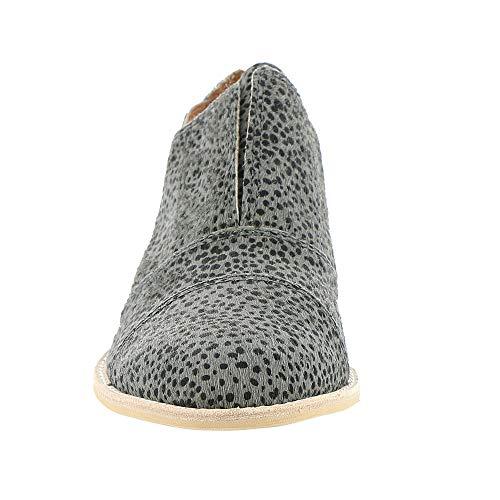 Cutout Women's Grey ALL BLACK multi Slip Fur On Cowman xIqIErpgwH