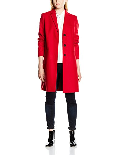 Red Ls Platform Abrigo Sky Felt Connection Para Coat red Mujer Classic French nZpTHw