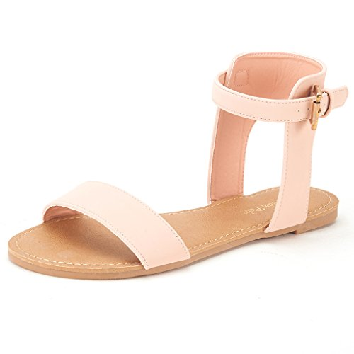 dream-pairs-alexa-womens-high-ankle-cuff-one-band-adjustable-buckle-closure-summer-fashion-flat-sand
