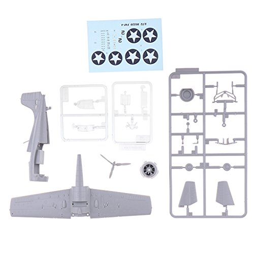 - D DOLITY 1:72 Scale Intelligence Puzzle Kit Self Assembled Warplane Model Plane Hobby