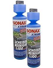 SONAX 2X 02711410 Xtreme ruitenreiniger 1:100 NanoPro concentraat 250ml