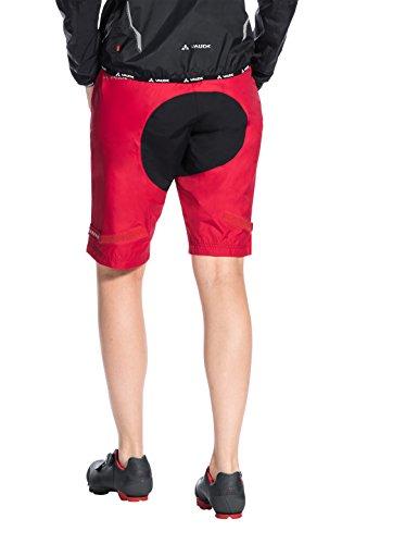 Shorts Drop S Vaude Indiano Rosso Women' Pantaloni qWzfwaBPT6
