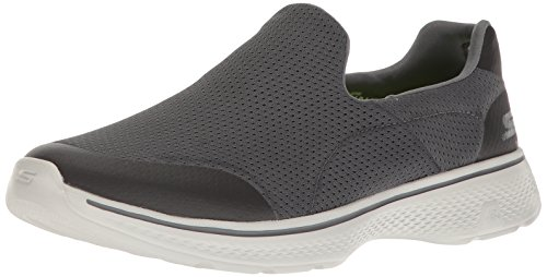 Skechers Performance Men's Go Walk 4 Incredible Walking Shoe, Charcoal, 9.5 M US