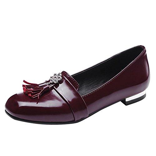 Block Frauen Chic Mee Heel Rot Pumps Shoes Low 5gw5pxqIZ