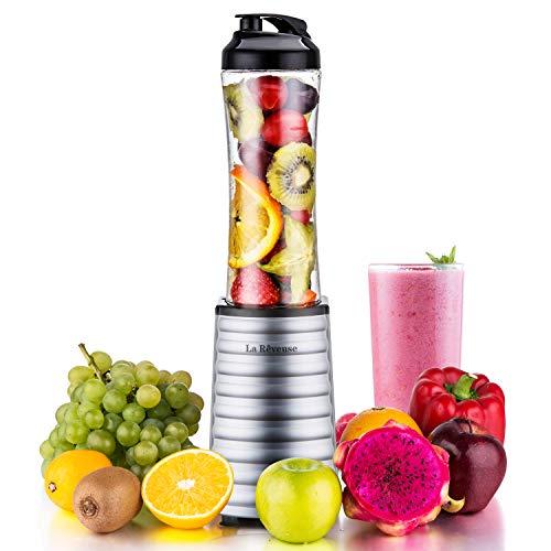 Smoothies Blender 300 Watt with 18 oz BPA Free Portable Travel Sports Bottle