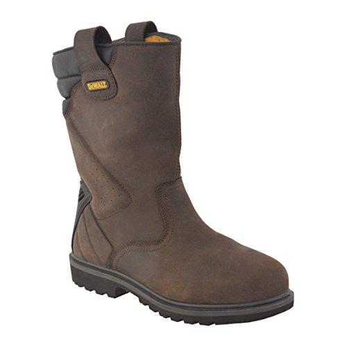 DeWalt-Stivali di sicurezza da lavoro, taglia 30, colore: marrone