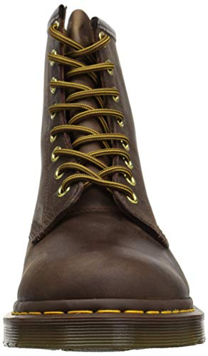 Union Jack Brown Dr Boots Eye Martens 8 Men's PwT7FTx