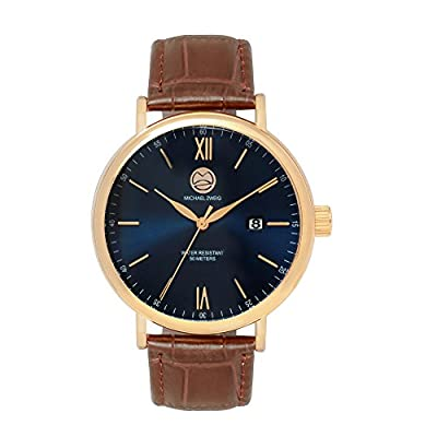 "Michael Zweig ""SYZYGY"" Mens Classic Watch"