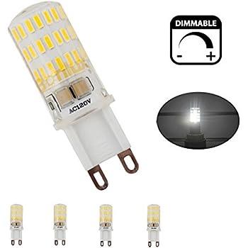 bonlux g9 dimmable led light bulb 40w equivalent daylight white 6000k g9 bi pin. Black Bedroom Furniture Sets. Home Design Ideas
