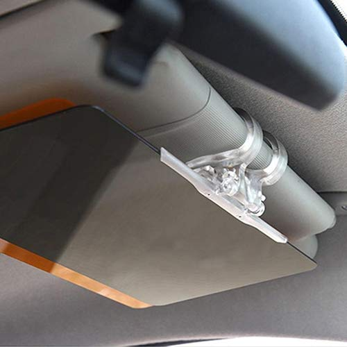 YUSHHO56T Interior Decoration Sunshade Car Sun Visor Anti-Glare Blocker UV Fold Flip Down HD Clear View Sunshade