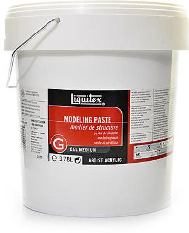 Liquitex Acrylic Modeling Paste (Gallon) 1 pcs sku# 1836438MA by Liquitex