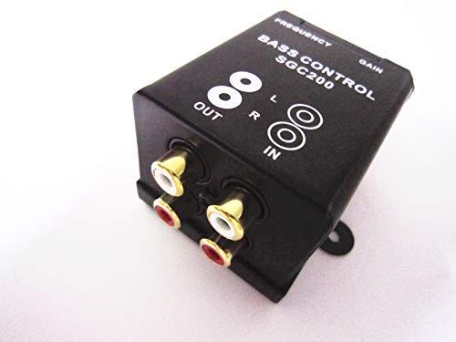Car Home Amplifier Subwoofer Equalizer Crossover RCA Adjust Line Level Volume (Rca Low Pass Filter)