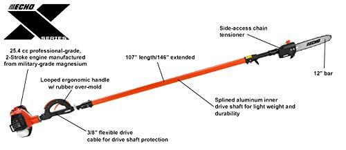 ECHO PPT-2620 25.4cc Telescoping Shaft Power Pruner Saw