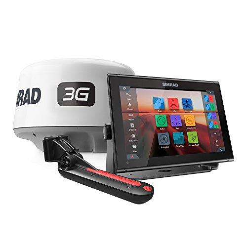 Simrad GO12 XSE, Basemap, TotalScan, 3G Radar