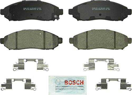 Pathfinder Brake Nissan (Bosch BC1094 QuietCast Premium Ceramic Front Disc Brake Pad Set)