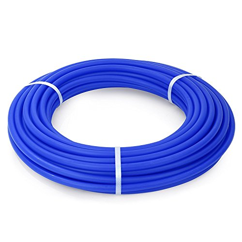Libra Supply 1/2 inch x 100 ft PEX-B Tubing Non Barrier Potable Water Tube(Click in for more size & length options) for Hot & Cold Potable Water & Radiant Floor (Blue Pex Tube)