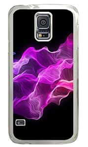Color Elegant Background Custom Samsung Galaxy S5 Case Back Cover, Snap-on Shell Case Polycarbonate PC Plastic Hard Case Transparent