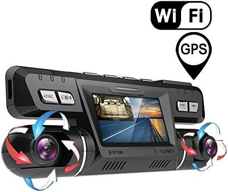 TTK AUTO 2160P UHD Camara De Coche GPS WiFi Delantero Y ...